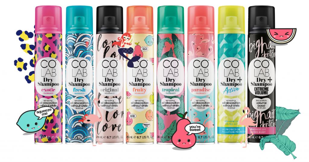 Картинки по запросу colab dry shampoo награды